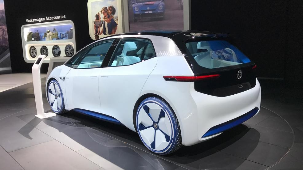 Production VW ID Hatchback To Look Like Concept WRSP - Car show display accessories