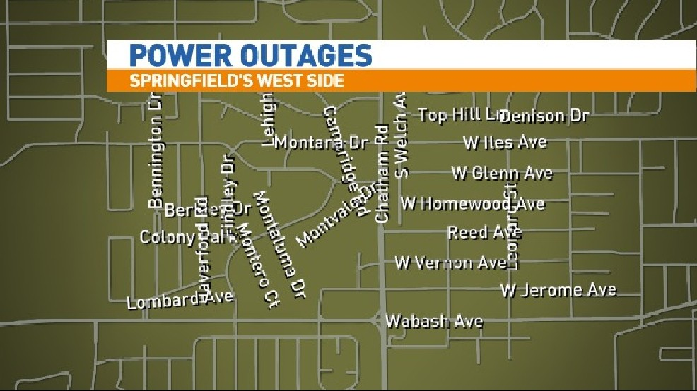 Cwlp Power Outage Map.Cwlp Responding To Power Outages Wrsp