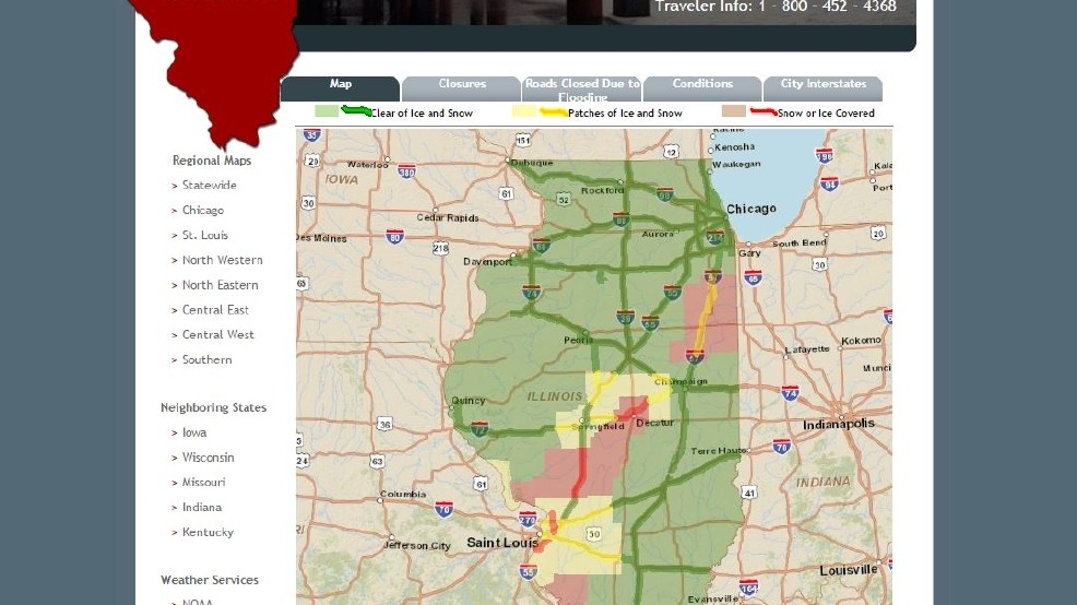 Road Conditions Around Central Illinois | WRSP on